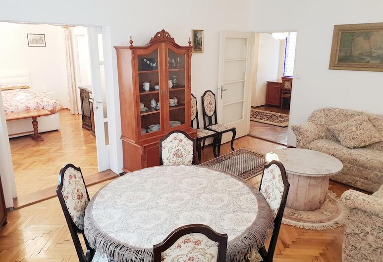 Apartment Konvikt, Praga, Apartamento luxo, Área de estar