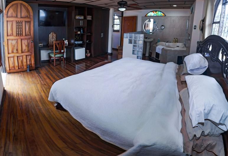 Dobson Manor, San Jose, Honeymoon Room, Private Bathroom with Jacuzzi, Vendégszoba