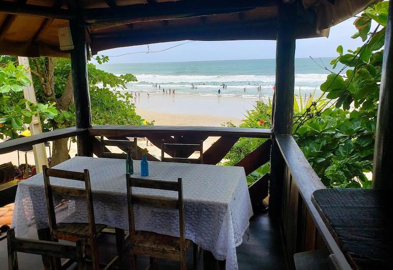 Pousada Terral Surf, Itacare, Terrasse/veranda
