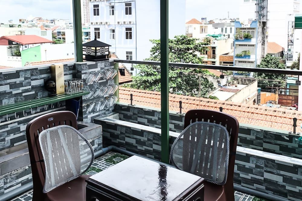 Premium-Zimmer - Blick vom Balkon