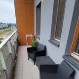 Apartamentai su patogumais - Balkonas