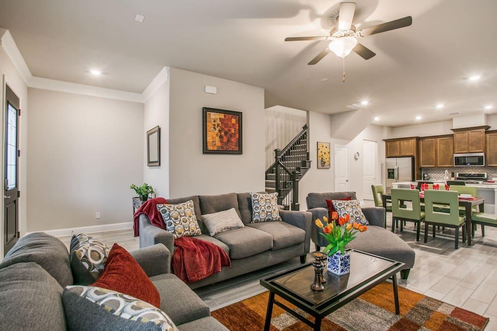 Mestský dom typu City - Obývacie priestory