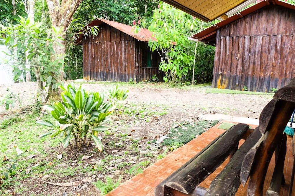 Chatka, 1 dvojlôžko, bezbariérová izba, výhľad na záhradu - Výhľad na záhradu