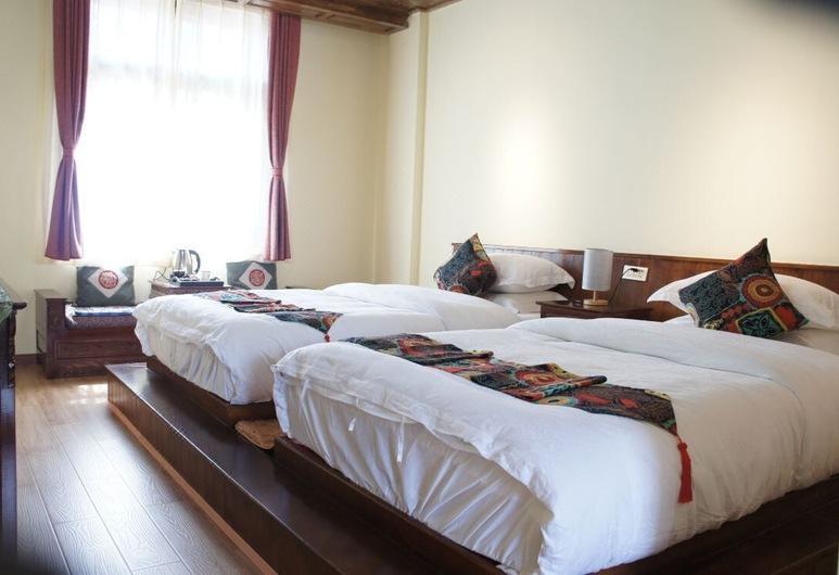 Zangmei Inn, Deczen, Pokój z 2 pojedynczymi łóżkami, Pokój