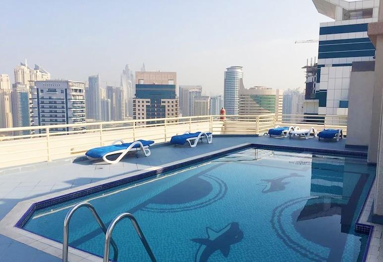 Key Host - Manchester Tower, Dubai, Välibassein