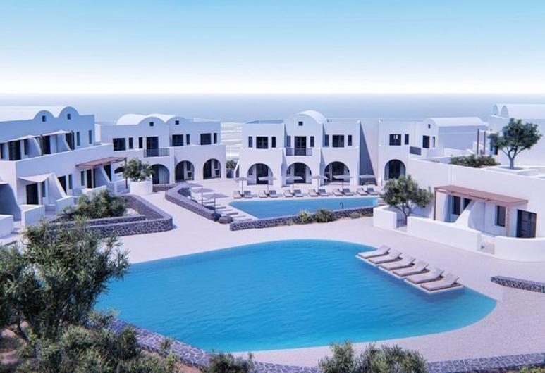 Orama Hotel & Spa, Santorini, Pemandangan Aerial
