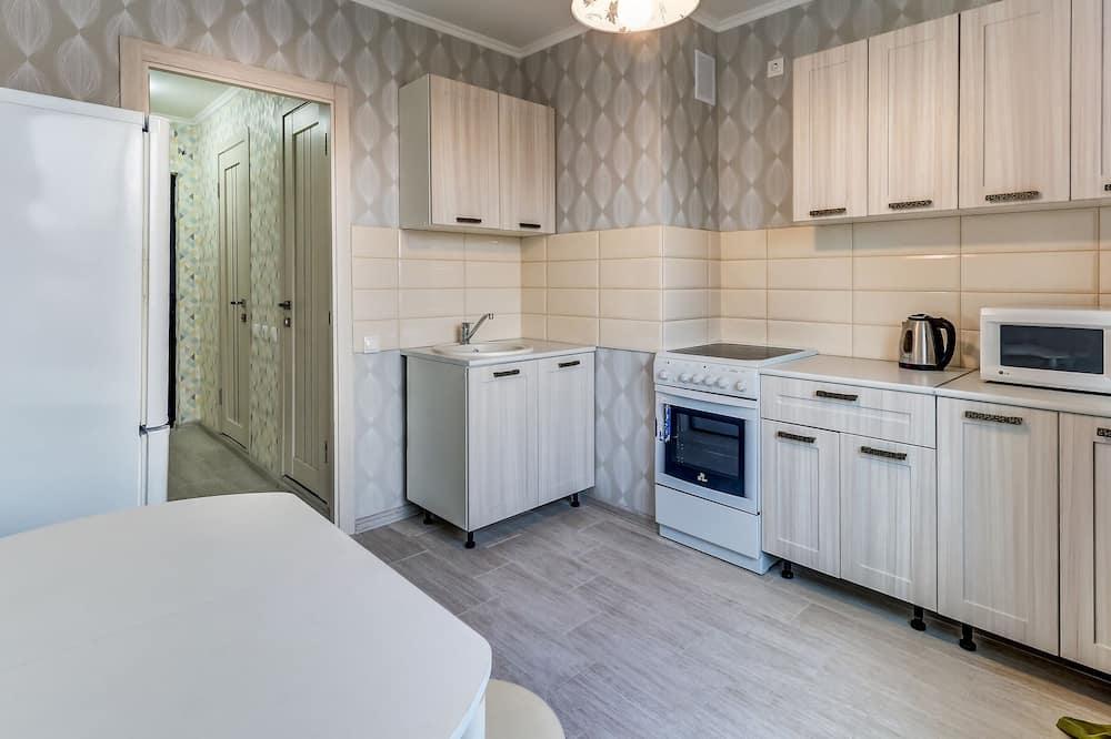 Departamento, 2 habitaciones - Cocina privada