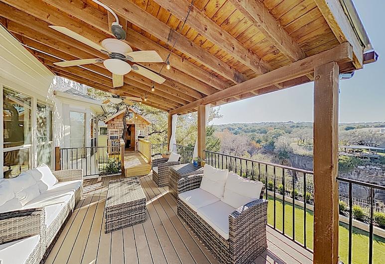 Break Cliff W/ Private Dock On Lake Travis! 4 Bedroom Home, Spicewood, Σπίτι, 4 Υπνοδωμάτια, Μπαλκόνι