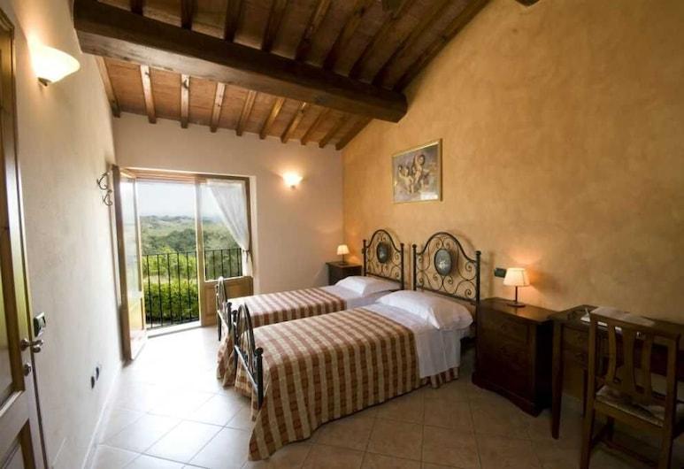 Agriturismo Macinatico 1, San Gimignano, Apartmán, 2 spálne (Vite), Hosťovská izba