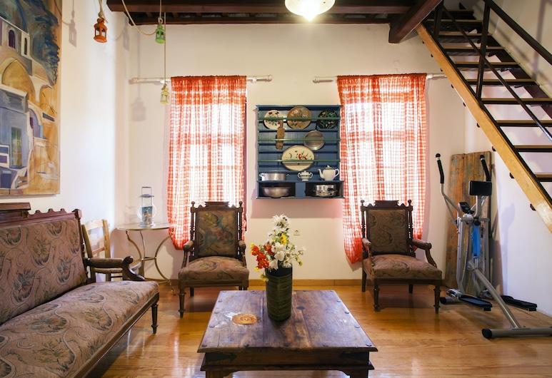 Evanthias home, Rethymno, בית, סלון