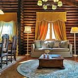 Chalet superior (Mailinthos) - Sala de estar