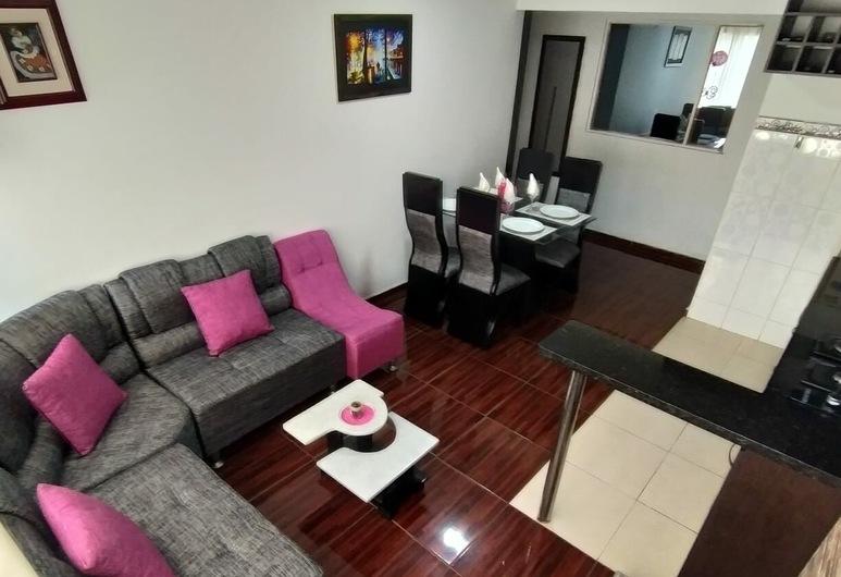 Hermoso apartamento completo buen precio, Bogotá, Comfort-huoneisto, Olohuone