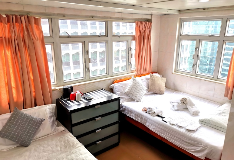 Chi Shing Hostel, Kowloon, Standard Triple Room, Guest Room