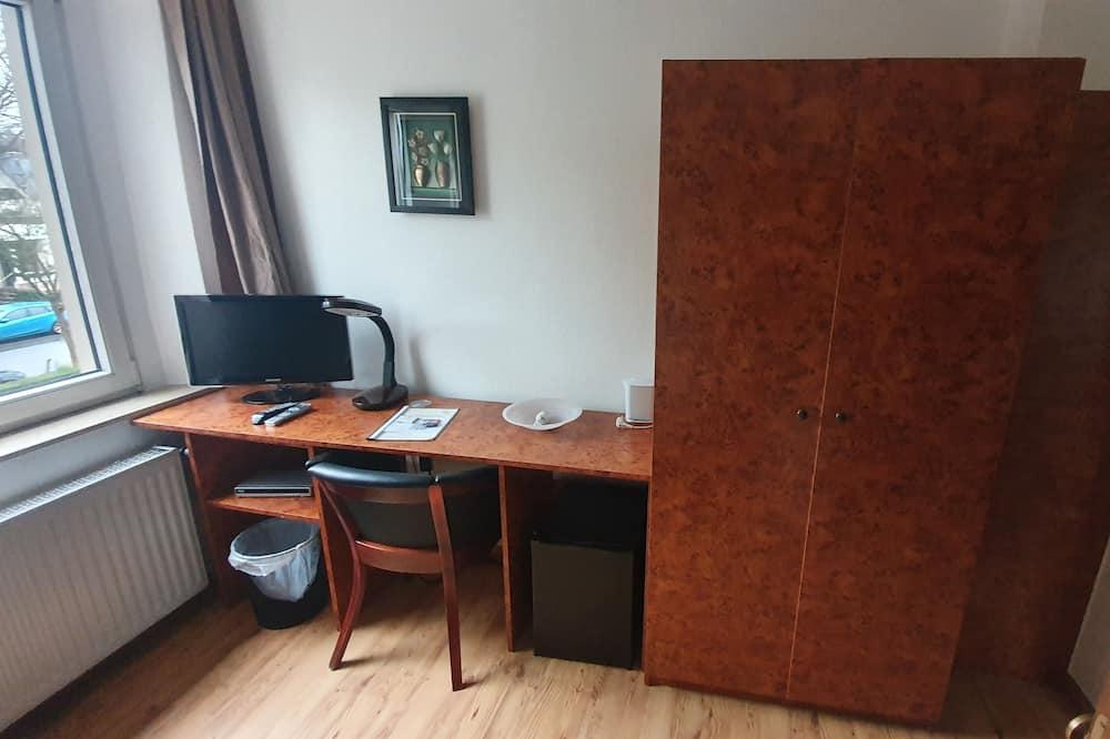 Jednolůžkový pokoj, nekuřácký - Obývací prostor