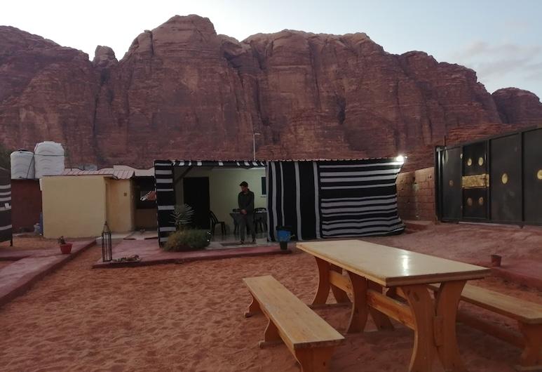 Bedouin village camp, Wadi Rum