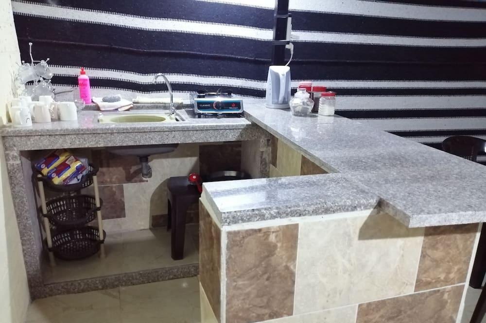 Zelt, 2Einzelbetten (Twin) - Gemeinschaftlich genutzte Küchenausstattung
