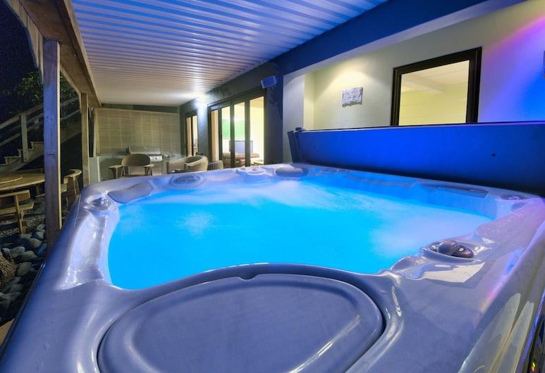 桑茲皮特旅館, 斯涅爾斯海灘, 室外 SPA 浴池