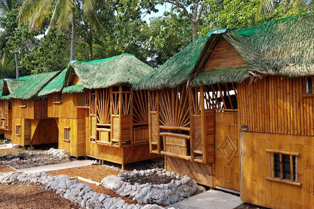 Hus - privat badeværelse (Large Bamboo) - Badeværelse