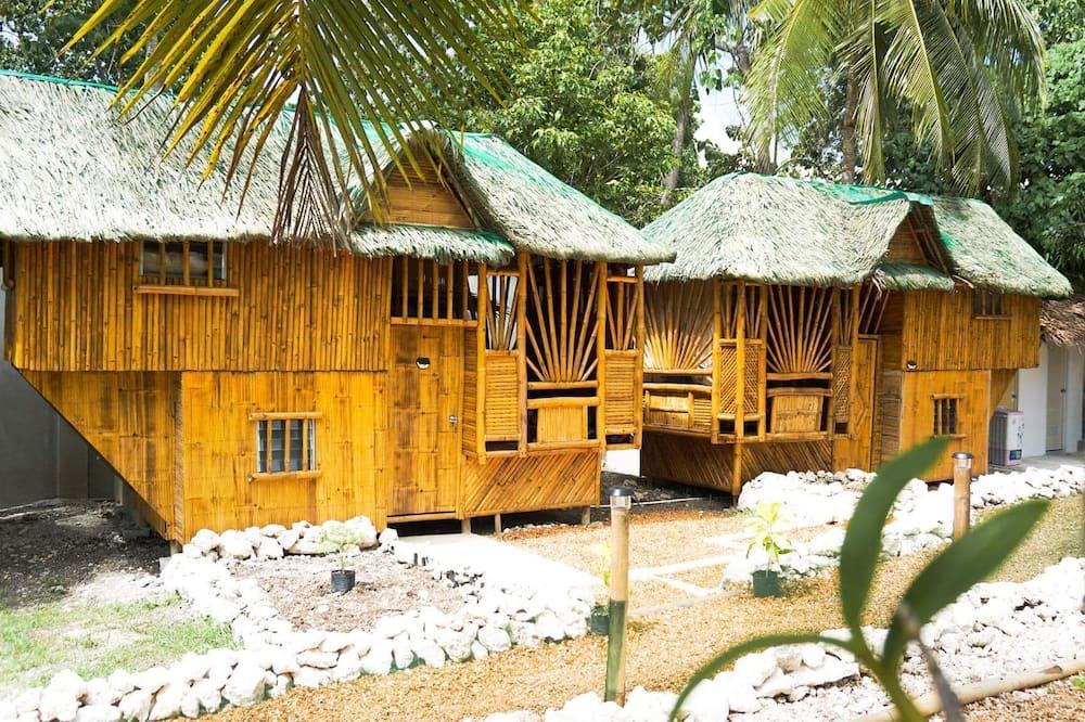 Hus - privat badeværelse (Large Bamboo) - Hotellets facade