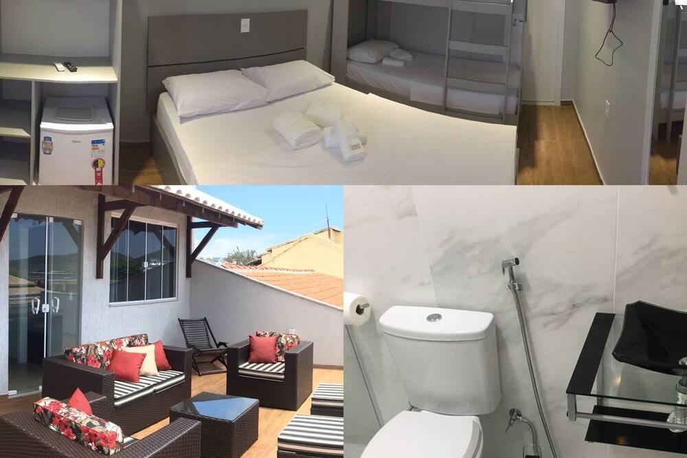 Čtyřlůžkový pokoj typu Deluxe - Veranda