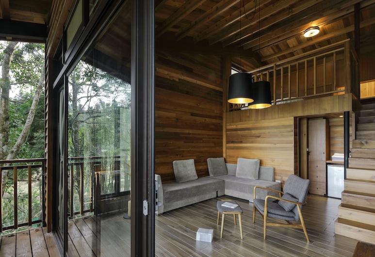 九樹森林二館-瘋之谷, 魚池鄉, 獨棟雙人小木屋, 客房
