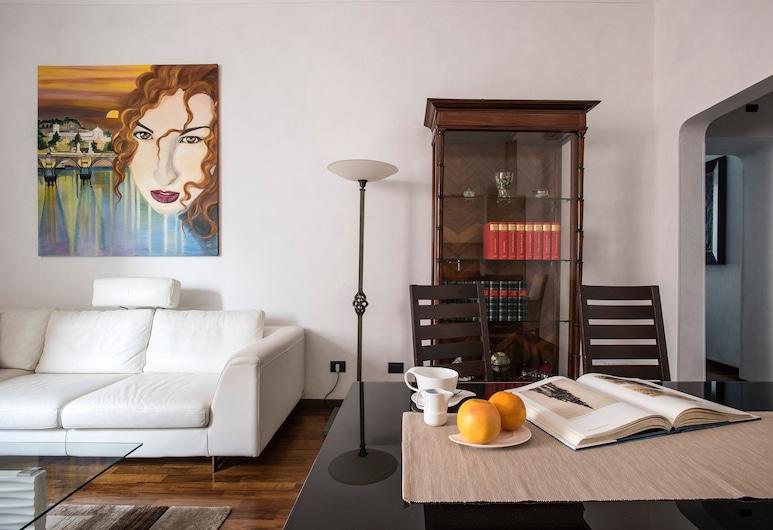 Ludovisi Apartment Deluxe, Roma, Appartamento Deluxe, 3 camere da letto, Area soggiorno