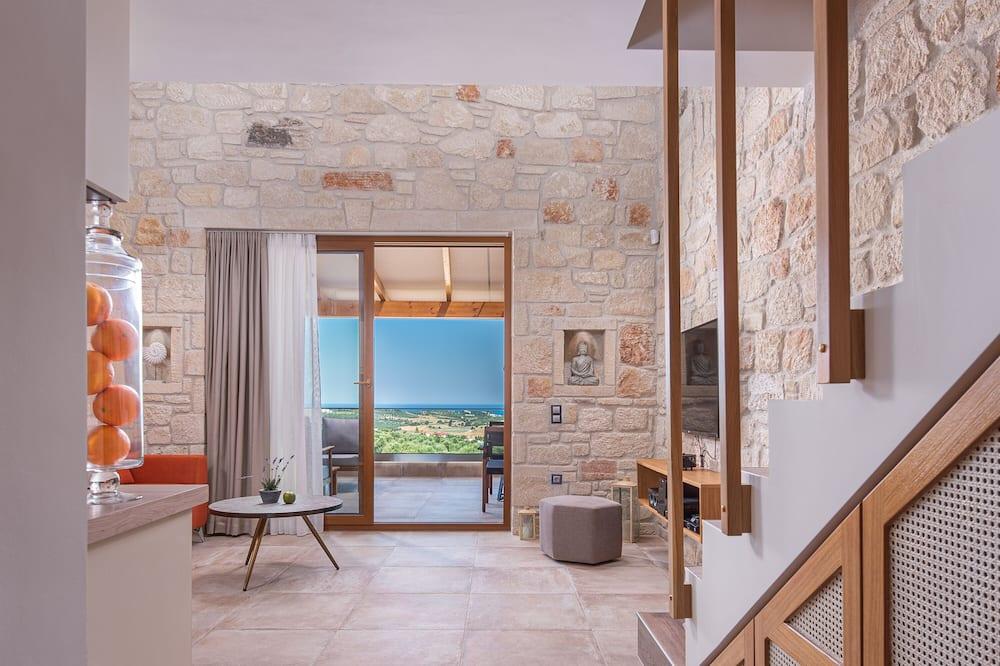 Superior Suite, Sea View - Living Area
