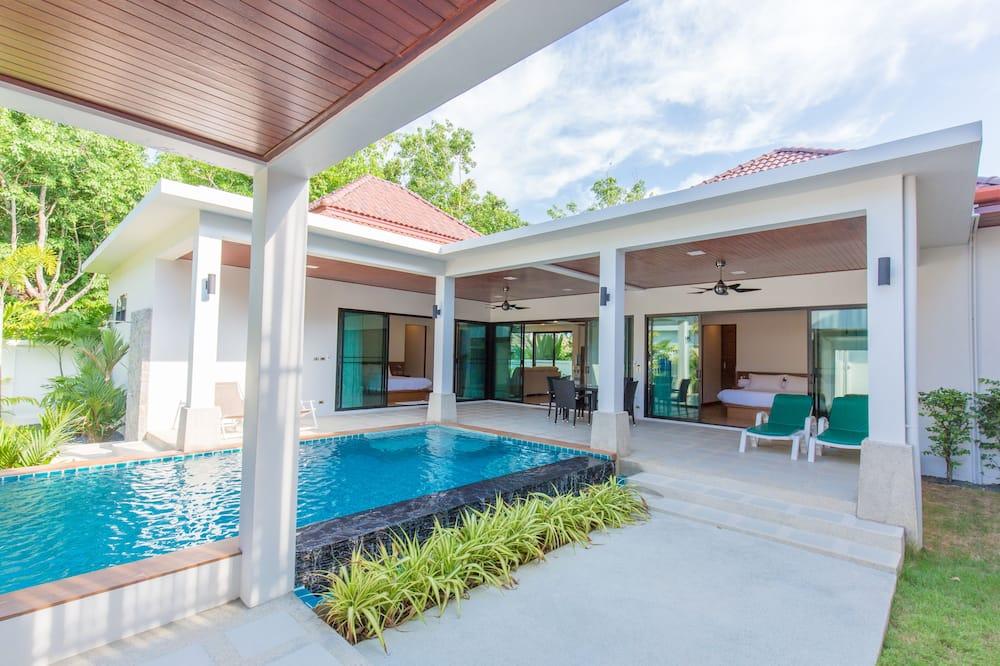 디럭스 빌라, 침실 2개 - 전용 수영장