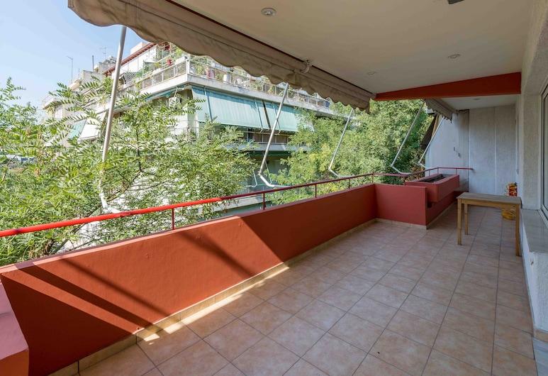 Isonomia apartment Pnyx Hill - Koukaki, Atenas, Apartamento, 2 quartos, Varanda