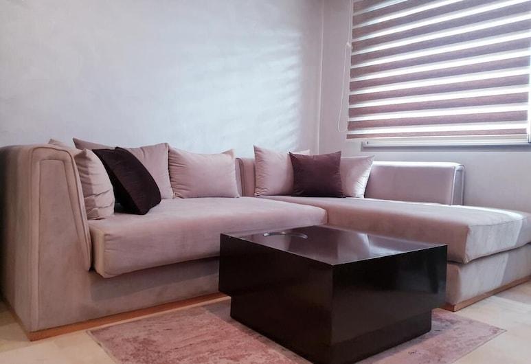 Sabor Luxury Family Apart, Casablanca, Appartamento familiare, 1 camera da letto, Soggiorno