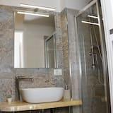 غرفة مزدوجة مريحة - حوض الحمام
