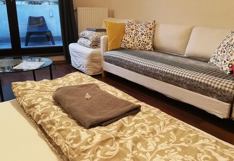 Labo Apartment Towarowa Kercelak, Варшава, Апартаменты «Комфорт», Несколько кроватей, терраса, Номер