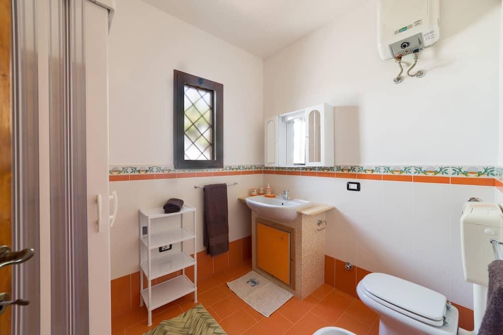 Perushuoneisto, 1 makuuhuone (Mono Luigi) - Kylpyhuone