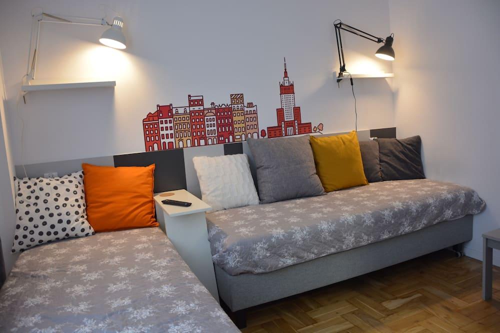 Apartemen, 2 kamar tidur, lantai dasar - Kamar