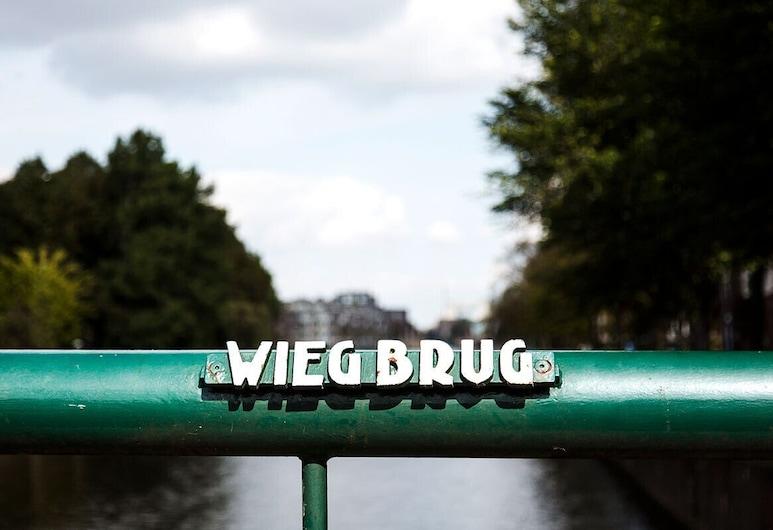 SWEETS - Wiegbrug, Amsterdam, Apartmán, Výhľad na vodnú plochu