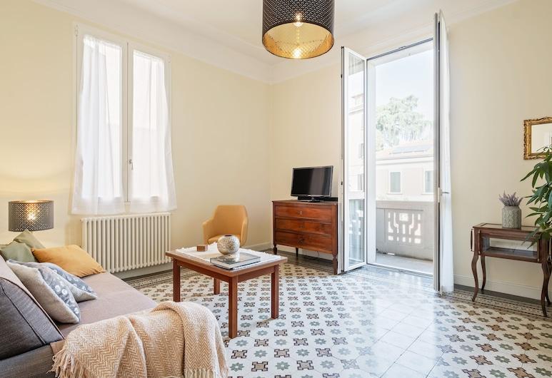Bologna Saffi Apartment con garage, Μπολόνια, Διαμέρισμα, 2 Υπνοδωμάτια, Καθιστικό