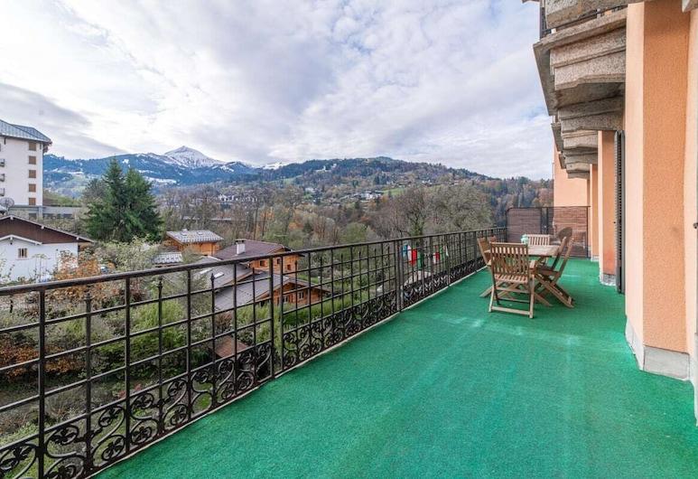 Mountain Paradise Private Apartment, Saint-Gervais-les-Bains, Terrasse/patio