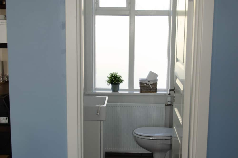 Dvojlôžková izba (WC in room, shared shower) - Kúpeľňa