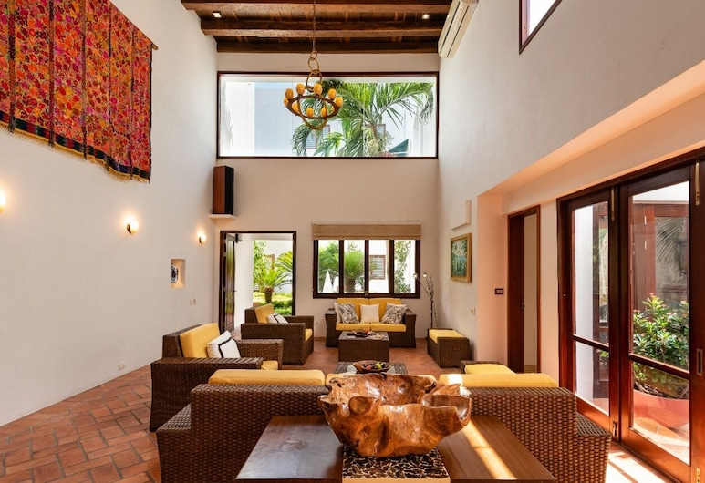 Amazing 6BR 2Pools - Sundeck & BBQ, Cartagena, Apartamento, 6 habitaciones, Sala de estar