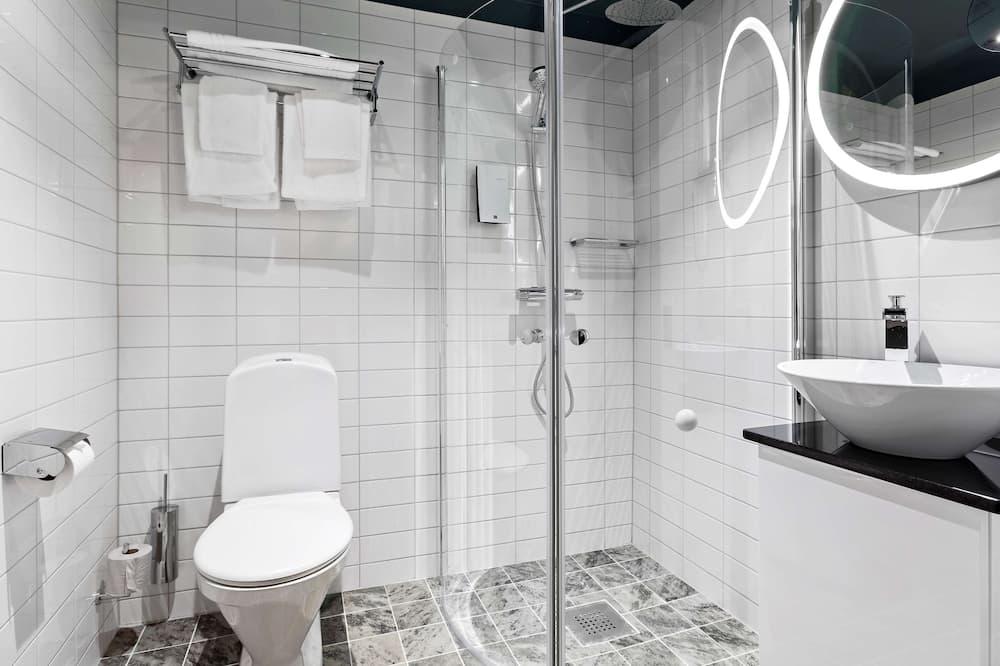 Superior-huone, 1 keskisuuri parisänky, Tupakointi kielletty, Keittotila - Kylpyhuone
