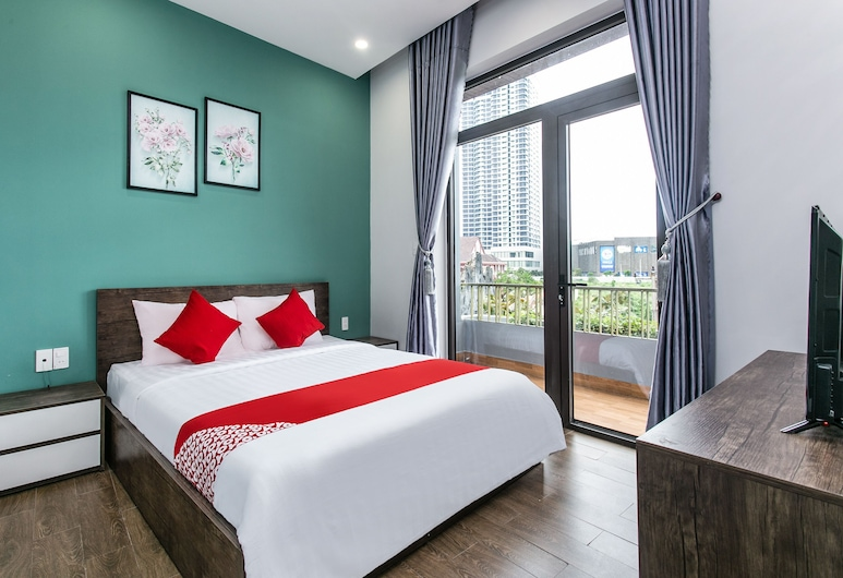 OYO 586 黃安公寓酒店, 峴港, 豪華開放式客房, 客房景觀