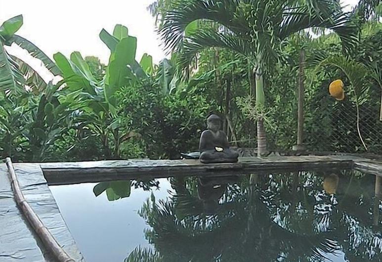 德拉瓦萊別墅酒店, 羅德里格斯島, 室外泳池
