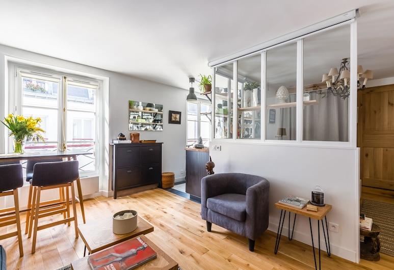 À la Mode Retreat by the Seine, Παρίσι, Διαμέρισμα (1 Bedroom), Καθιστικό