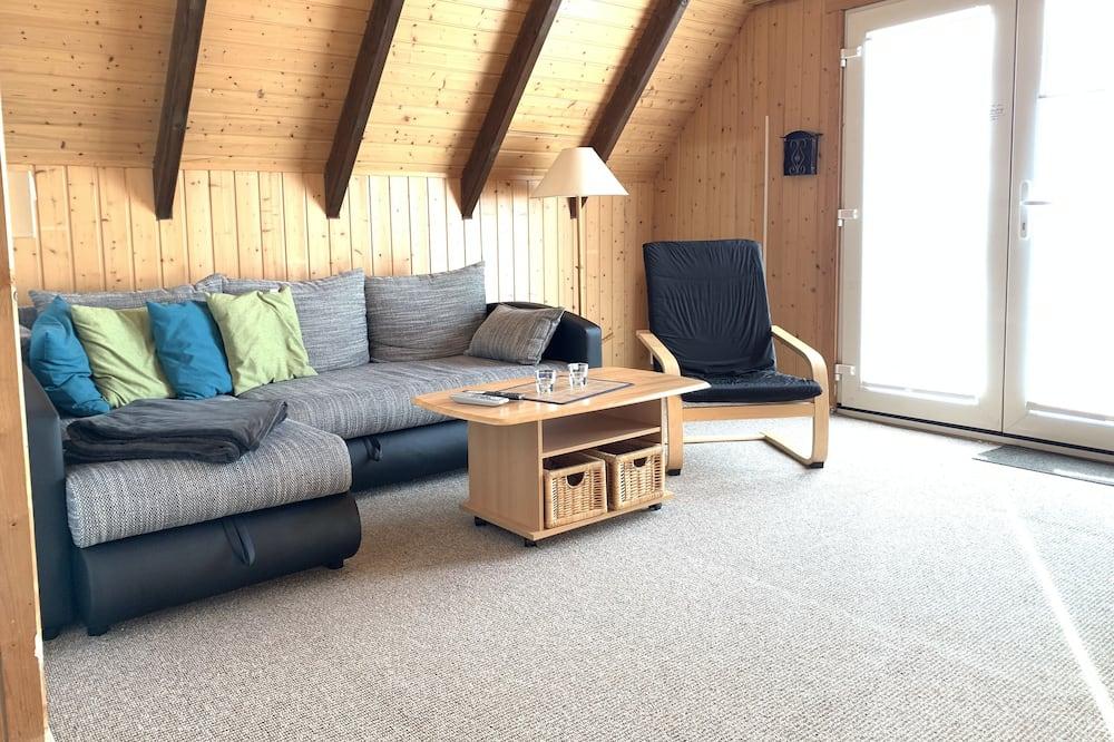 Ferienwohnung, 1 Schlafzimmer, Nichtraucher, Balkon (Cleaning fee 60,00 EUR) - Wohnbereich