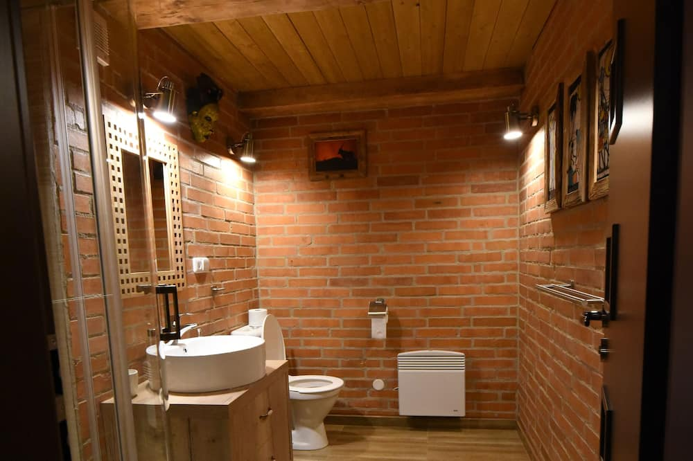 Design-Doppelzimmer (Etosha) - Badezimmer