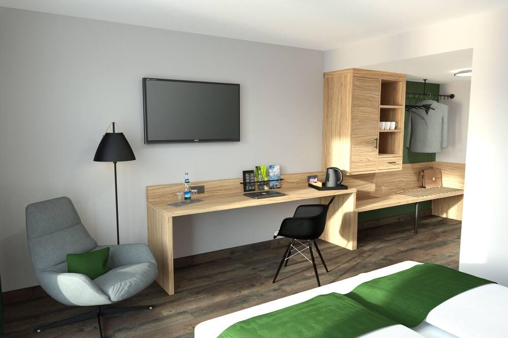 Habitación doble Confort, con acceso para silla de ruedas - Sala de estar