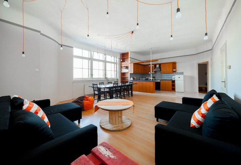 Astoria Design Apartment, Budapest, Apartment, 3 Bedrooms, Living Area