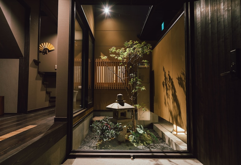 谷町君 大宮旅館 京都四条大宮, 京都市, ラグジュアリー ヴィラ, 中庭