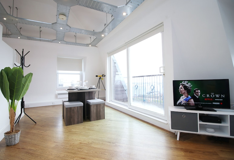 Stay In Cardiff Crichton House, Cardiff, Panoramic-Studio, Wohnzimmer