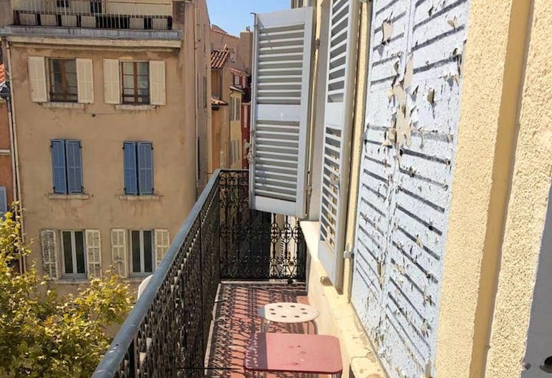 Apartment With one Bedroom in Marseille, With Wonderful City View and Balcony, Marseille, Balcony